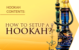 How to setup a hookah